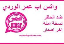 Photo of تنزيل تحديث واتساب عمر الوردي تحميل واتس اب عمر وردي ضد الحظر 2021
